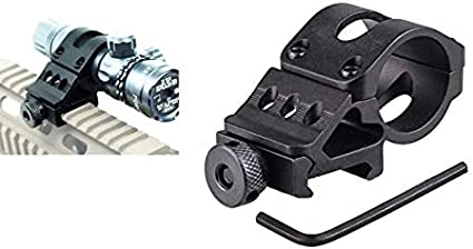 Angle Mount 360 TACTICAL 45 Degree Offset Picatinny Rail Mount