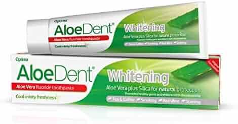 AloeDent Whitening Alow Vera Fluoride Toothpaste 100ml