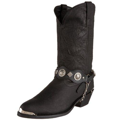 Concho Western Boots - Dingo Men's Concho Strap 12