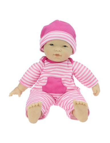 Asian Play Dolls (La Baby 11-inch Asian Washable Soft Body Play Doll For Children 18 months Or Older, Designed by Berenguer by JC Toys)