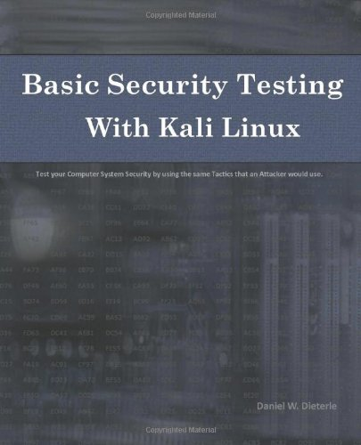 Basic Security Testing with Kali Linux Front Cover
