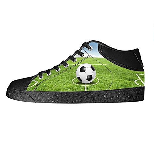 Ginnastica Alto Da Calcio Custom Women's Canvas Lacci Sport Tetto Scarpe I Shoes Delle PqPwz6v
