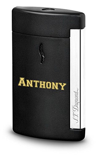 Personalized S.T. Dupont Minijet Matte Black Torch Flame Lighter with Free Engraving by S.T. Dupont (Image #6)