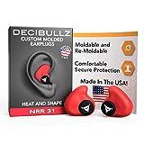 Decibullz - Custom Molded Earplugs, 31dB Highest