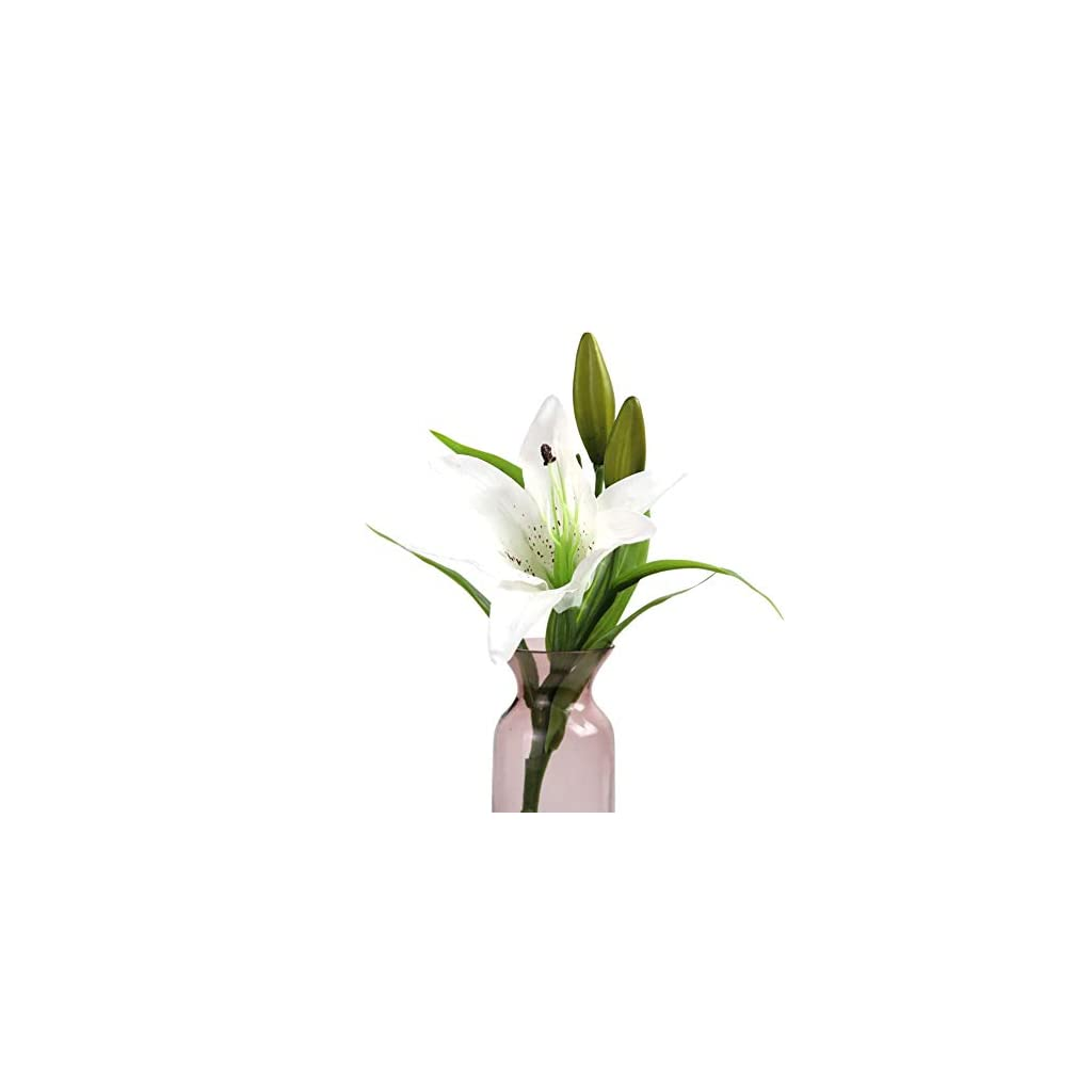 Artificial-Flowers-Fake-Flowers-3-Heads-Real-Touch-Lily-Flower-Long-Stem-Bouquet-for-Home-Kitchen-Xmas-Party-Wedding-Flower-Arrangement-Shops-Grave-Decor