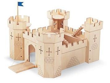 Amazon.com: Pintoy: madera castillo medieval Playset: Toys ...