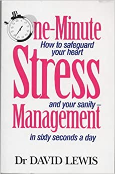 Book One Minute Stress Management by David Lewis (2000-01-06)