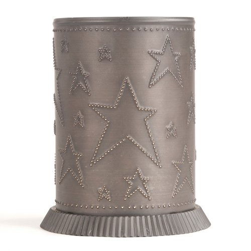 Candle Warmer with Country Star in Kettle Black by Irvin's Country Tinware (Image #1)