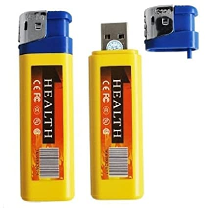 Mechero Mini Micro cámara oculta Video Camera espía Spy USB Audio fotos SC
