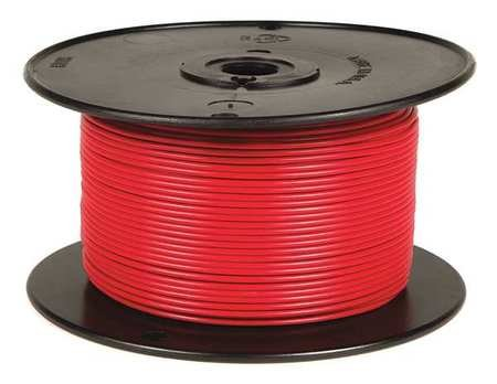Primary Wire 18 ga. Str 60V XLPE Red ()