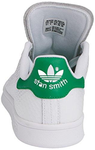 adidas Stan Smith W, Zapatillas Mujer Multicolor (Blanco / Verde)