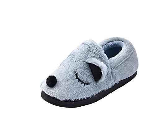 Hiver Homme ZiXing Chaud Bébé Chaussures Enfant Fille Antidérapant Chausson Pantoufles Peluche Garçon Maison Blue Chaussures Femme qwIA46xw