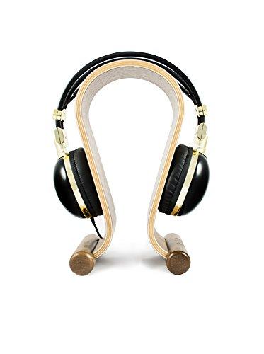Texet Wooden Headphone Stand (Black Walnut) – HPS-001W