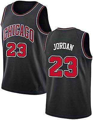 NBA Michael Jordan 23# Chicago Bulls Camiseta de Baloncesto para ...