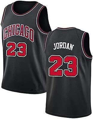 NBA Michael Jordan 23# Chicago Bulls Camiseta de Baloncesto ...