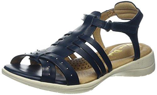 Van Dal Women's Soft Trek T-Bar Sandals Blue (Ocean) pMXuOqHhDr