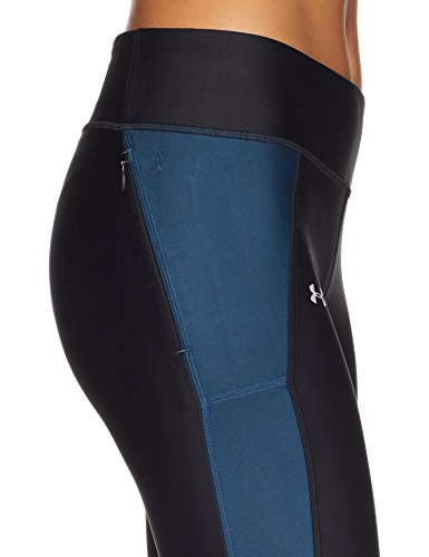 Nero black Under true By Fly Ink Sportivi Capri 014 Pantaloni Donna reflective Armour 110qz8