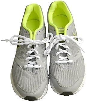靴ひも.com モコモコ靴紐・ホワイト・40cm・45cm・50cm・55cm・60cm・65cm・70cm・75cm
