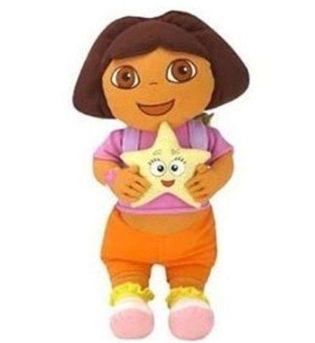 Nick Jr Dora The Explorer Cuddle Pillow - Dora Star Catcher -