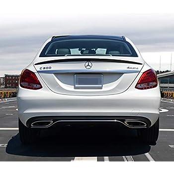 C300 Mercedes 2015 Price >> Rear Spoiler Mercedes Benz W205 C Class Sedan 2015 17 Spoiler Carbon Fiber C200 C250 C400 C180 C300 C300 4matic C350e Amg C43 Amg C63 Amg