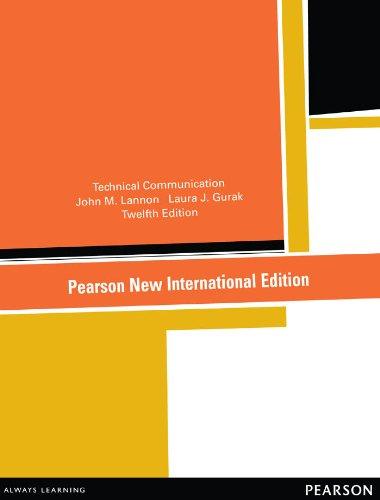 Technical Communication 12th Edition Pdf