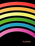 Planner: Rainbow 1 Year Daily Planner (12 Months) | 2020 - 2021 | 365 Pages for Planning | January 20 - December 20 | Appointment Calendar Schedule | Plan Each Day Set Goals & Get Stuff Done