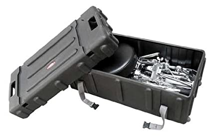 222bf3e67e46 SKB Mid-Sized Drum Hardware Case with Handle and Wheels
