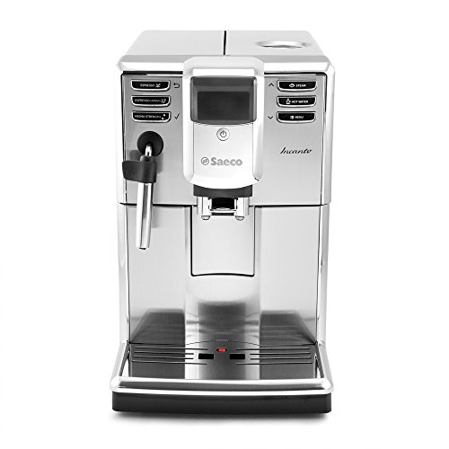 Saeco Incanto Plus Super-Automatic Espresso Machine w/Built-In Grinder - HD8911/67 (Best Coffee For Superautomatic Machine)