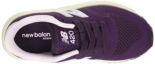 New Balance KFL420IP, Zapatillas Infantil Púrpura