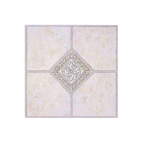 Floor Tile 9 Boxes Covers (Madison Vinyl Self Stick Floor Tile 2783 Home Dynamix Flooring - 1 Box Covers 9 Sq. Ft.)