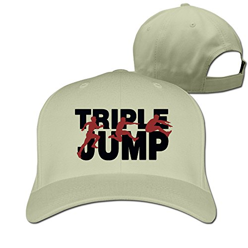USA Triple Long Jump Adjustable Fitted Hats Trucker - Fashion Brown Chris Trends