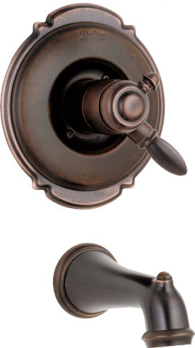 (Delta Faucet T17155-RB Victorian Monitor 17 Series Tub Trim Only, Venetian Bronze)