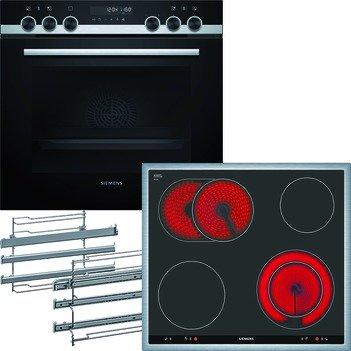 Siemens iQ500 EQ521KT00B Cerámico Horno eléctrico sets de ...
