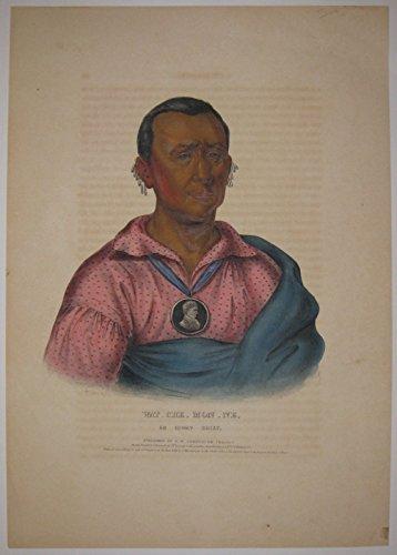 Wat_Che_Mon_Ne, An Ioway Chief.