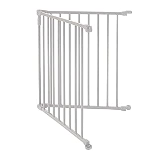 """Toddleroo by North States 2 Panel Extension for 3 in 1 Metal Superyard: Adds up to 48"""" for an Extra Wide Baby gate or Play Yard (48"""" Width, Beige)"""