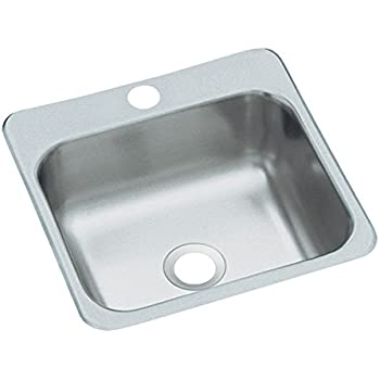 Sterling B153 1 Secondary Sink 15 Inch By 15 Inch Top Mount