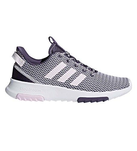 adidas NEO Women's CF Racer TR W Running Shoe, trace purple/orchid tint/aero pink, 7 M US