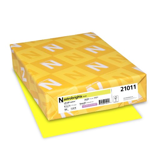 astrobrights-color-paper-85-x-11-24-lb-89-gsm-lift-off-lemon-500-sheets