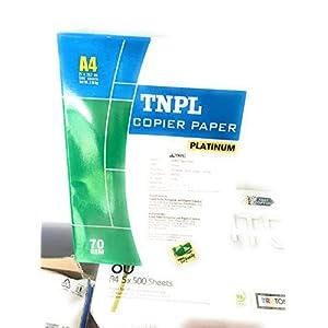 S P UDAAN TNPL Copier Paper for Printer -500 Sheets, 70 GSM -A4 Size (White)