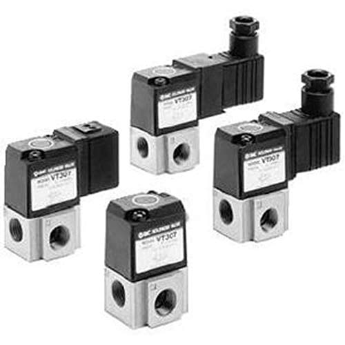 VT307 G 1/8 3/2 Solenoid/Solenoid Manifold Pneumatic Control Valve by smc-corporation (Image #1)