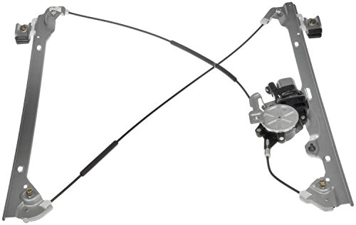 apdty-852756-power-window-motor-cable-regulator-assembly-fits-front-right-1999-2007-chevrolet-silver