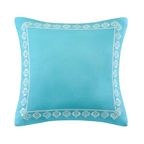 Madison  Nisha Comforter Set, Twin, Teal