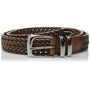 Perry Ellis Men's Portfolio Braided Belt