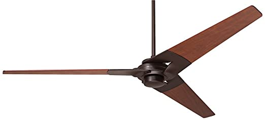 torsion ceiling fan. 52\u0026quot; modern fan torsion dark bronze ceiling g