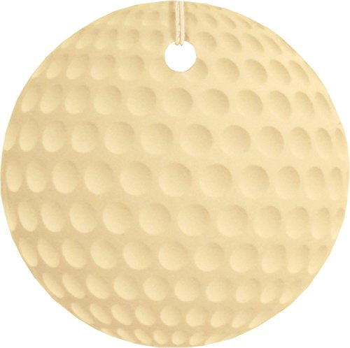 Set of Four Golf Ball Air Fresheners, Ocean Surf