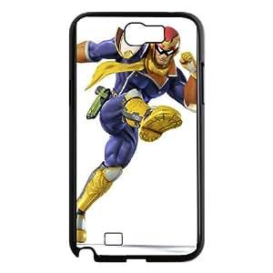 Samsung Galaxy N2 7100 Cell Phone Case Black Super Smash Bros Captain Falcon OJ446118