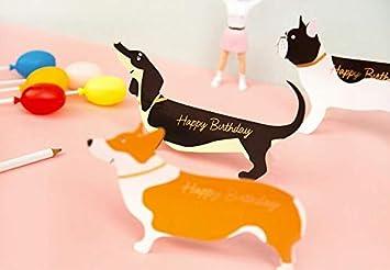 Giga Gud Fathers Day Cute DogDachshundCorgiBulldogPuppy Pop Up