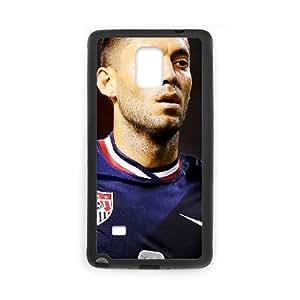 Clint Dempsey funda Samsung Galaxy Note 4 caja funda del teléfono celular del teléfono celular negro cubierta de la caja funda EEECBCAAJ09928