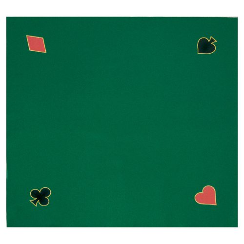 Square Poker Felt Layout - 40 X 40 by TMG