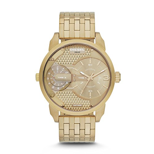 (Diesel Men's DZ7306 The Daddies Series Analog Display Analog Quartz Gold Watch )